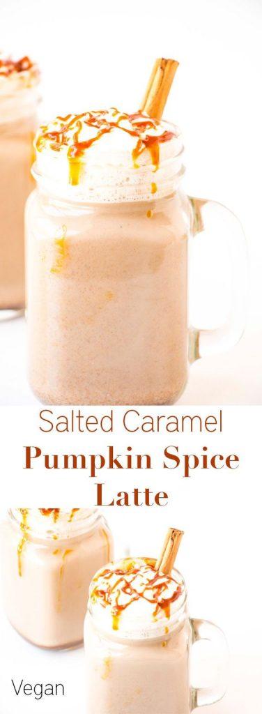 Pumkin Latte au caramel salé