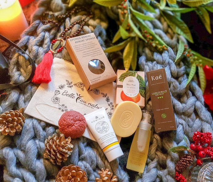 La jolie box Féérie de Noël de Belle au Naturel