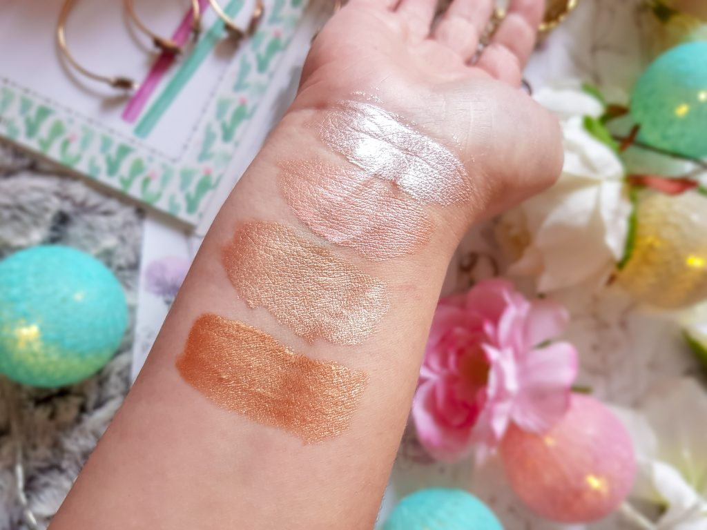 Metals Liquid Glow Highlighter Golden Rose