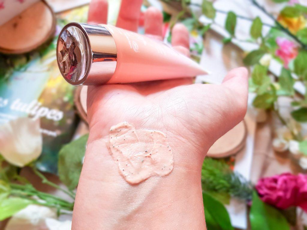 texture masque velours gommage regenerant Saisons d'Eden