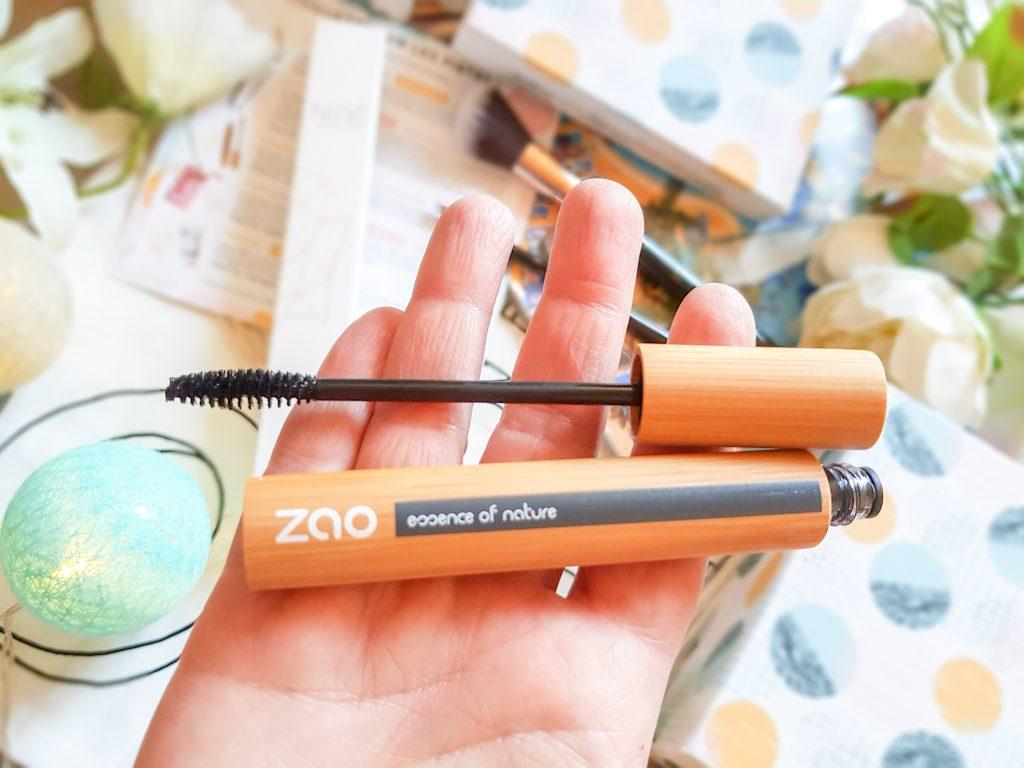 mascara noir Zao Makeup