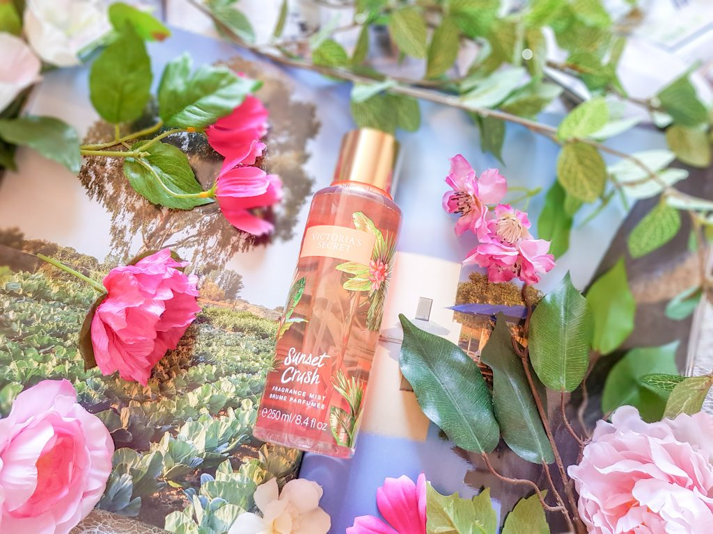 porter du parfum : brume parfumee Sunset Crush Victoria's Secret