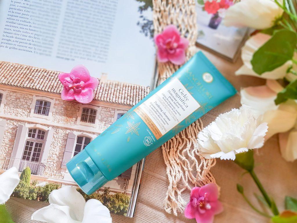 nettoyant purifiant peau neuve Gelée magnifica Sanoflore