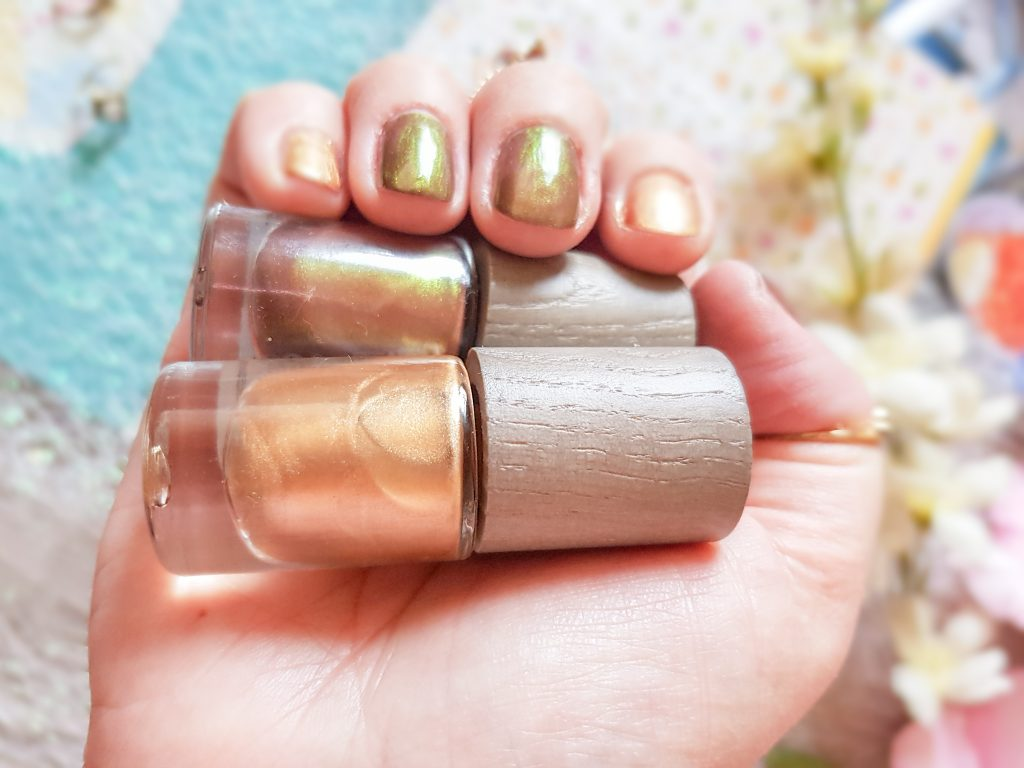 vernis bio Mexico et Solar Gold Boho Cosmetics