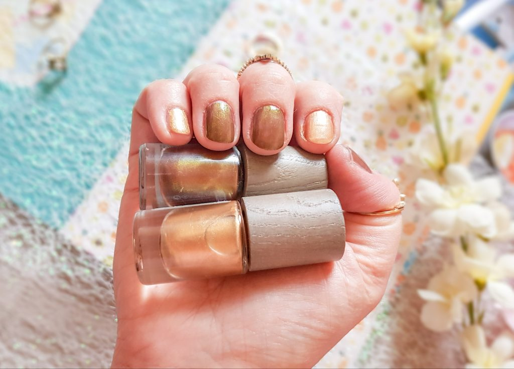 vernis Mexico et Solar Gold Boho Cosmetics