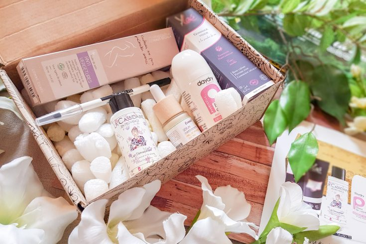 coffret beauté bio Belle au naturel avril 2019
