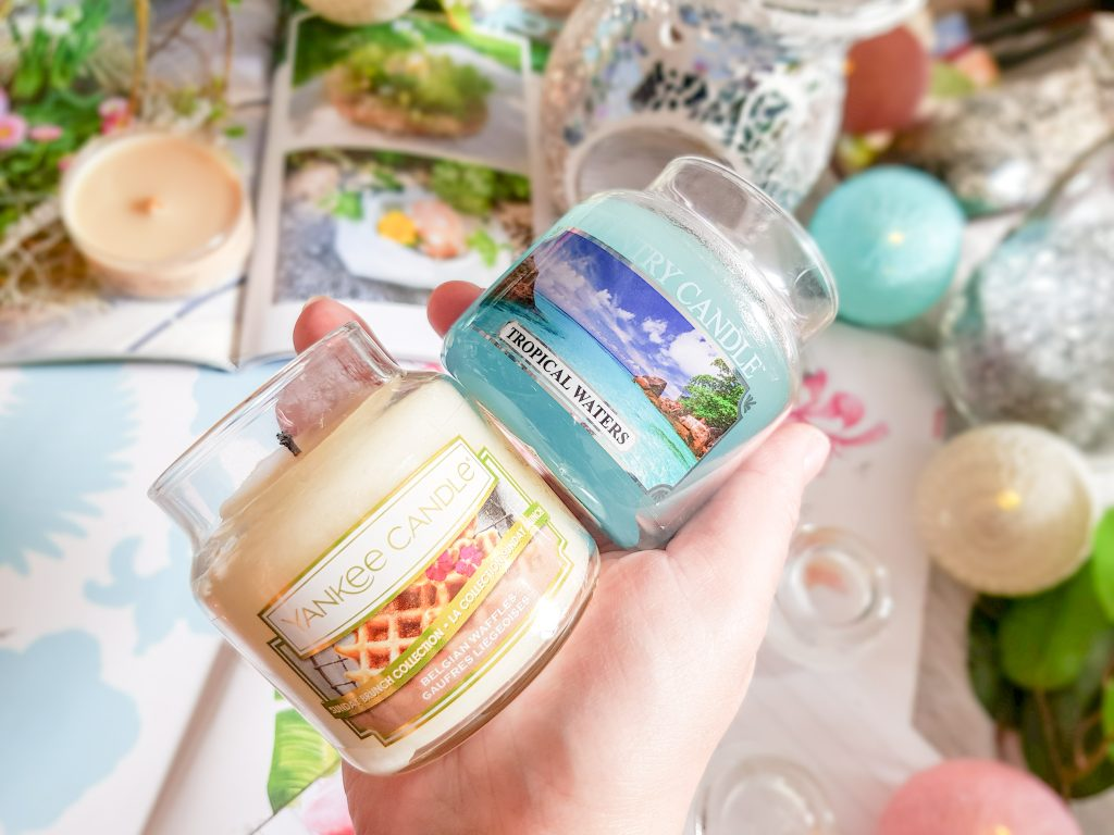 bougies parfumées Country Candle et Yankee Candle