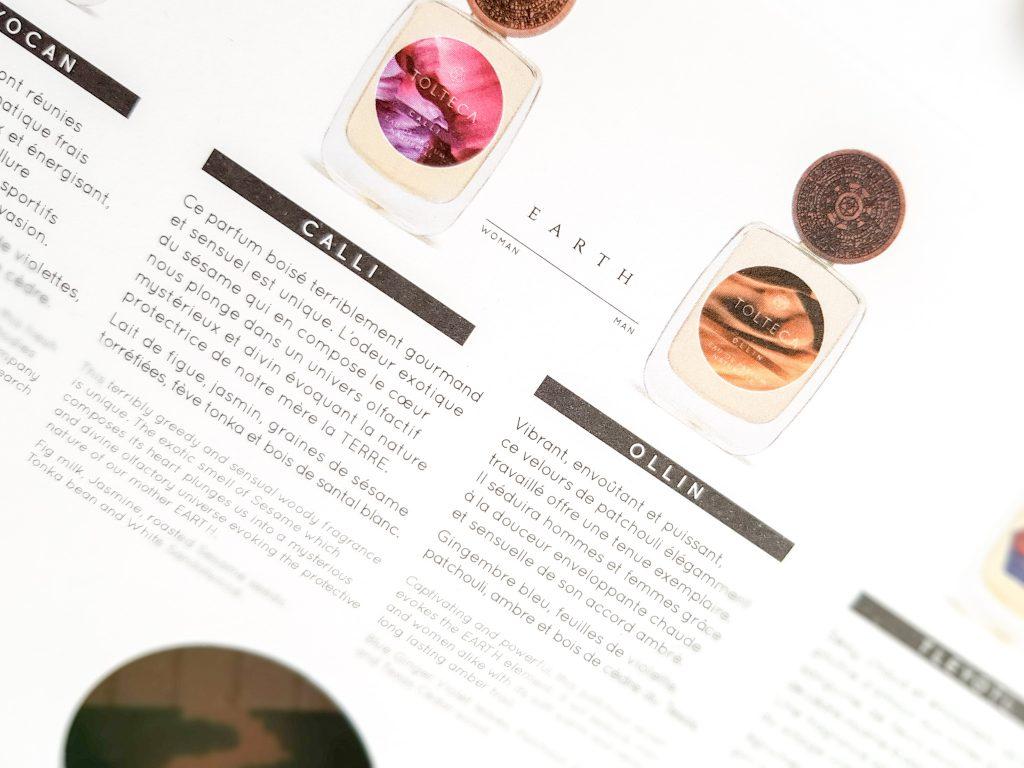 les parfums naturels haut de gamme Tolteca