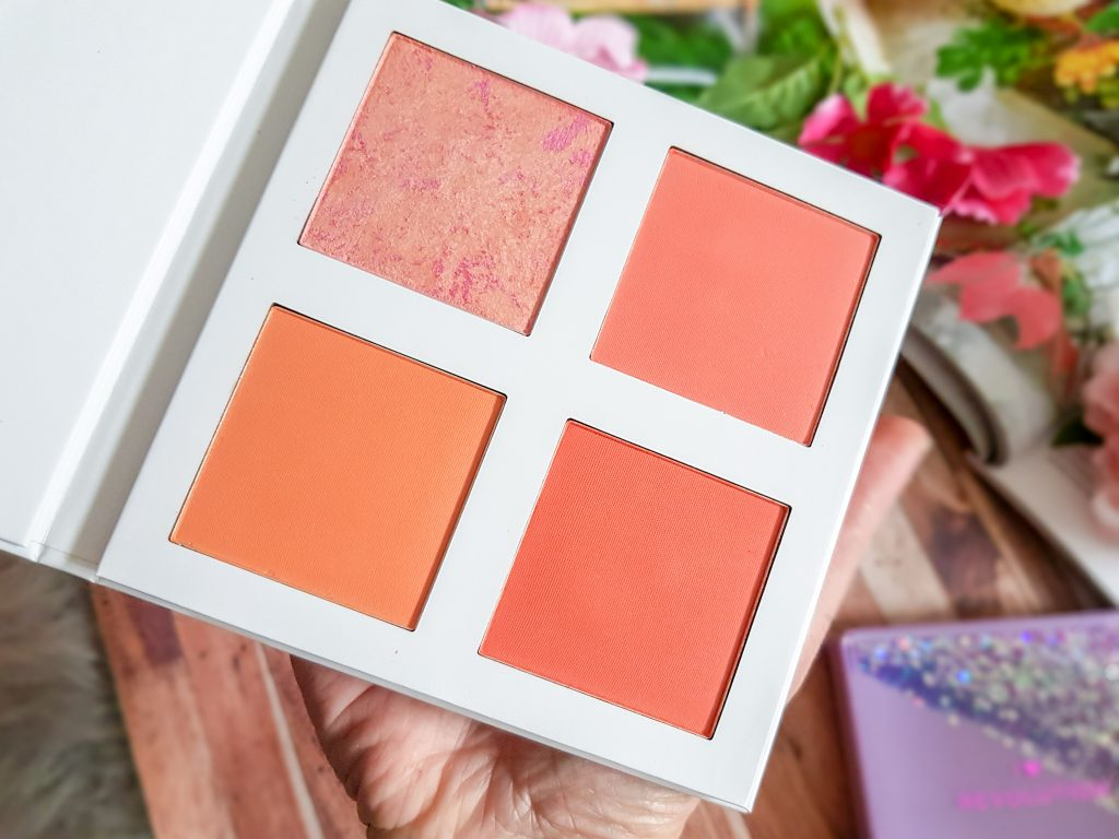 palette Blush Makeup Revolution