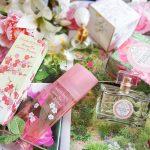 3 jolis parfums floraux tout doux