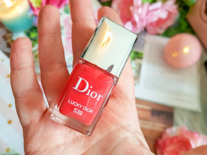 vernis Dior teinte 539 Lucky Dior