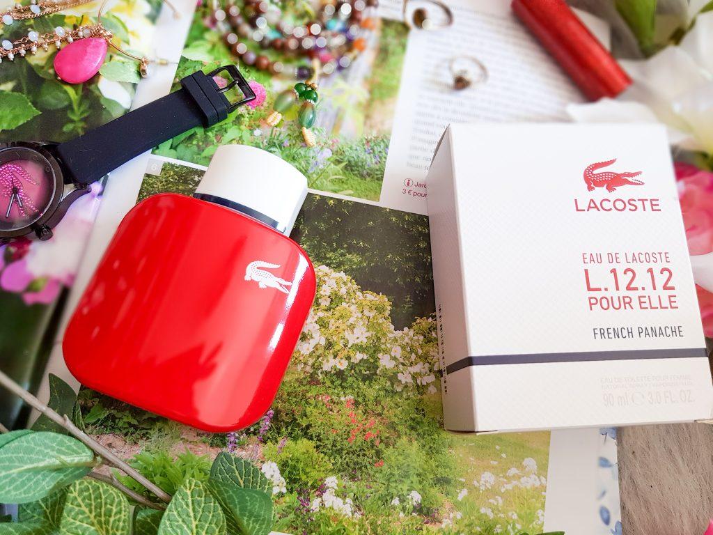 eau de toilette L.12.12 French Panache pour Elle Lacoste