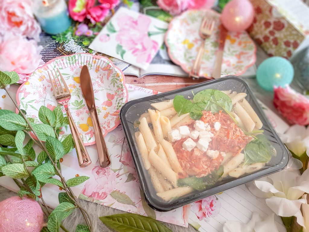 Plat préparé Seazon : Fusilli IGP & dinde effilochée à la tomate