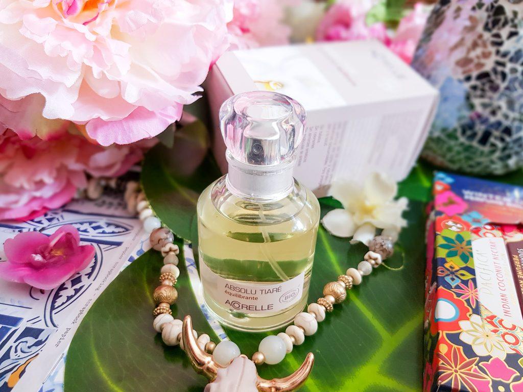 eau de parfum Abolu Tiaré équilibrante Acorelle
