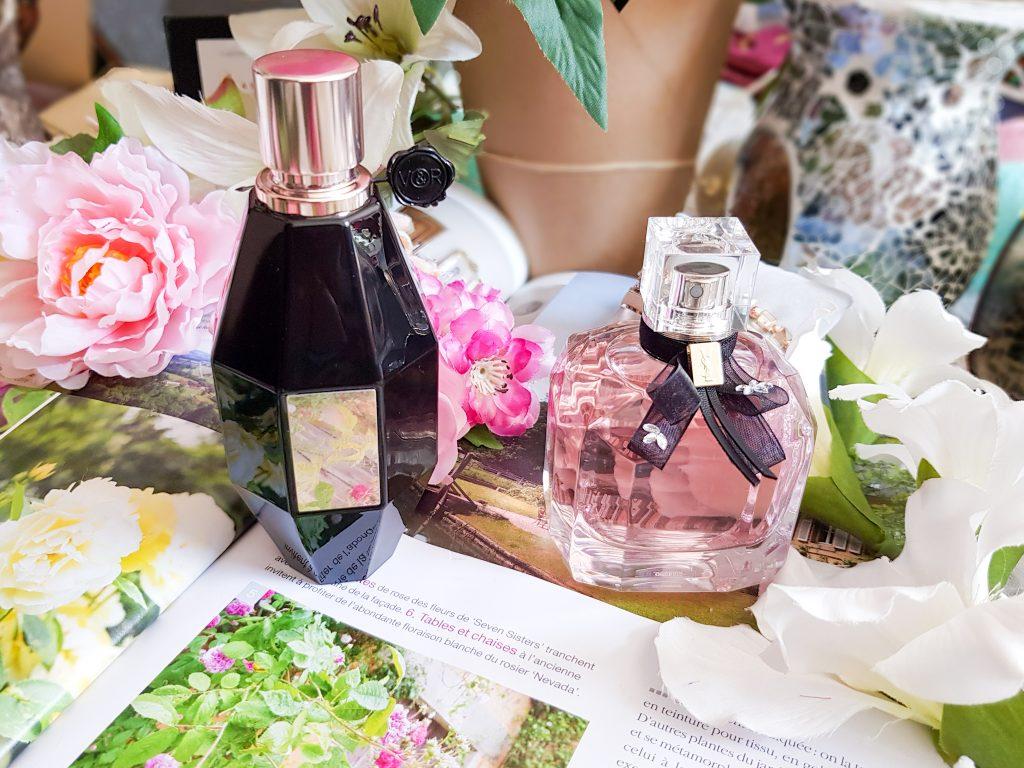 deux parfums floraux pour ce printemps
