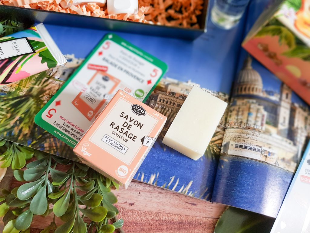 savon de rasage douceur naturel Balade en Provence