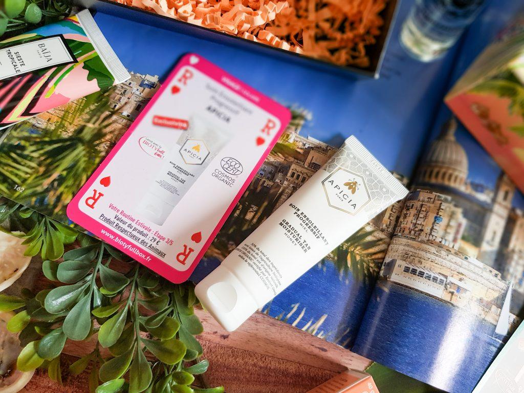 soin ensoleillant progressif miel Apicia