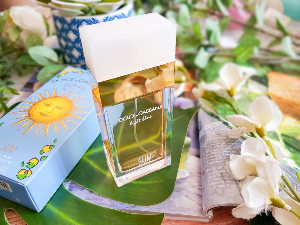 eau de toilette femme Light Blue Sun Dolce & Gabbana