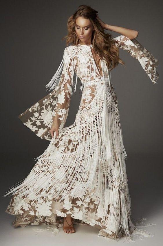 robe de mariage boho