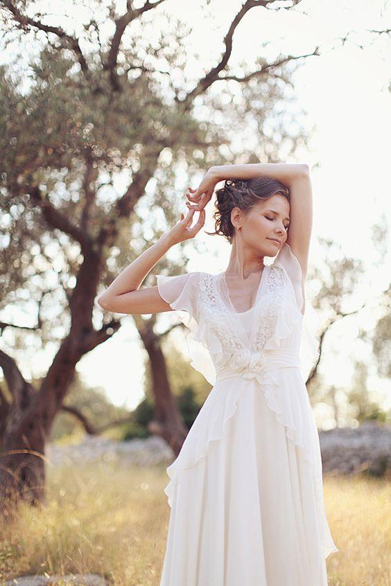 robe de mariage longue