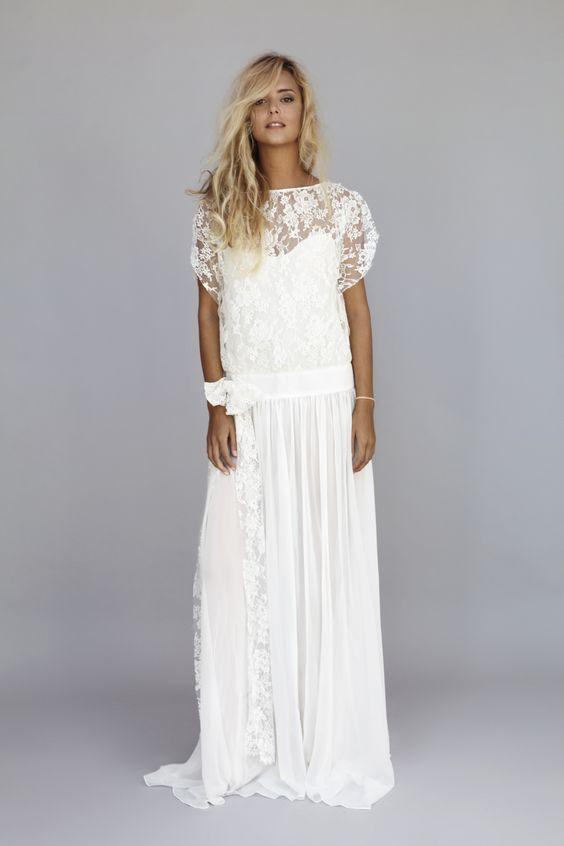 robe de mariée esprit boho