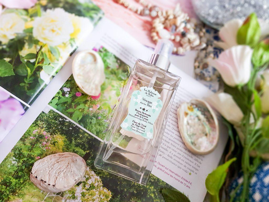brume parfumée corps La Sultane de Saba