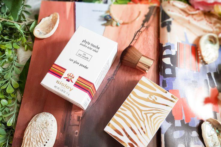teint hâlé naturel avec la poudre éclat soleil phyto-touche de Sisley