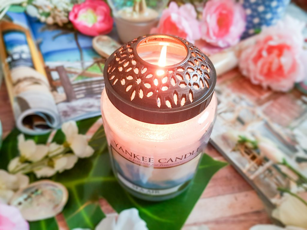ornement pour bougie Yankee Candle
