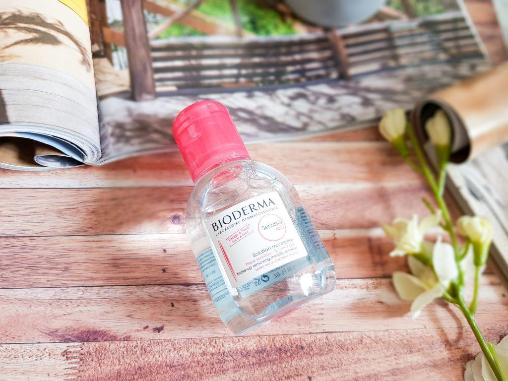 eau micellaire peau sensible Bioderma