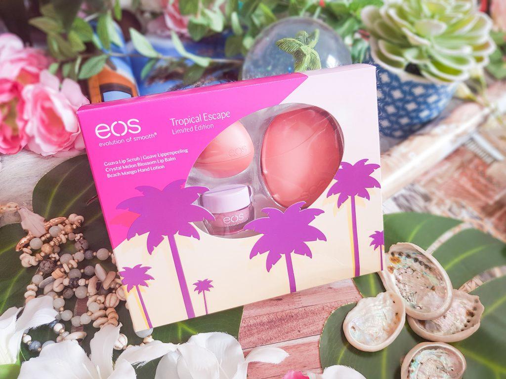 ambiance tropicale coffret Eos