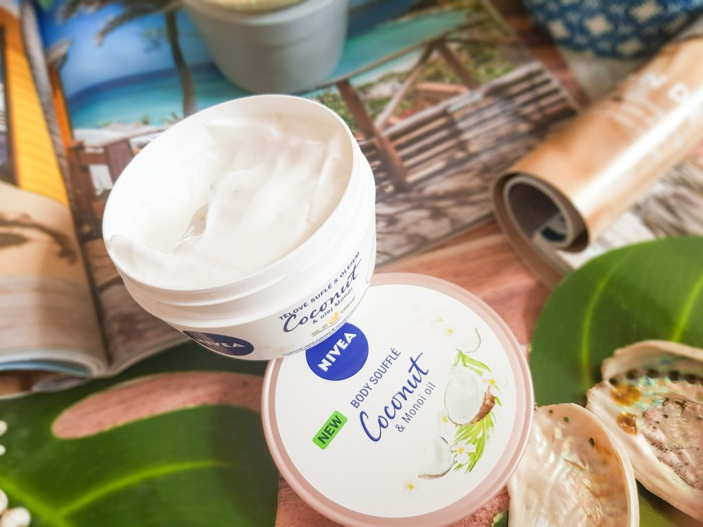 Body Soufflé Coconut et Monoi Oil Nivea