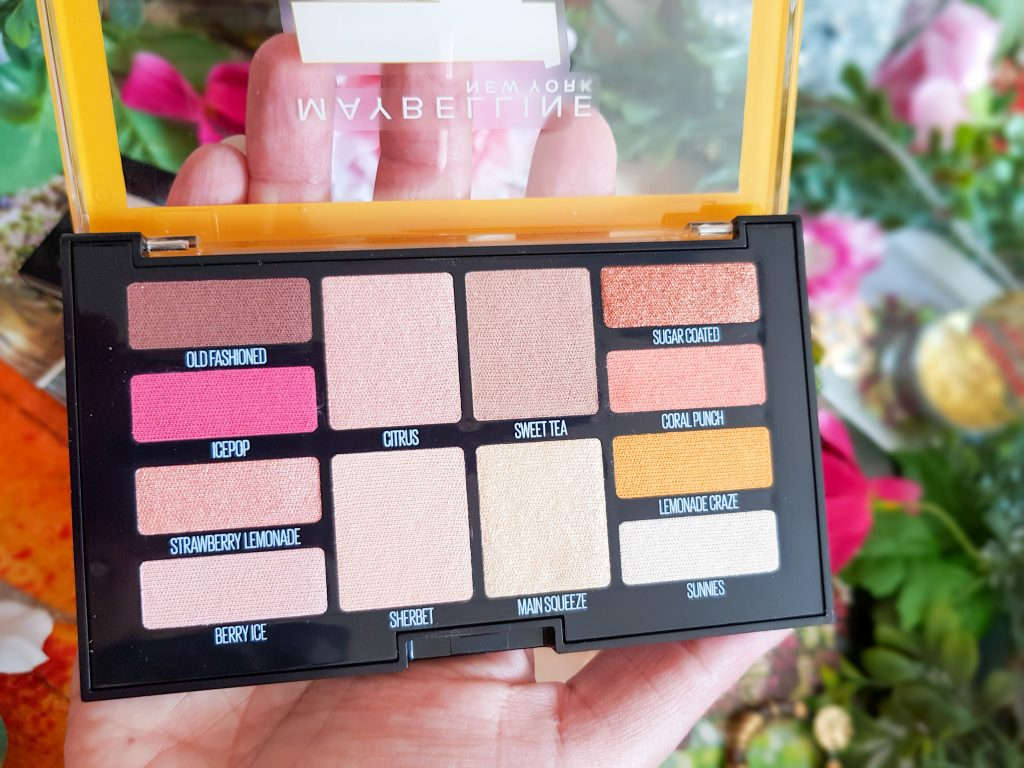 palette Maybelline Lemonade Craze