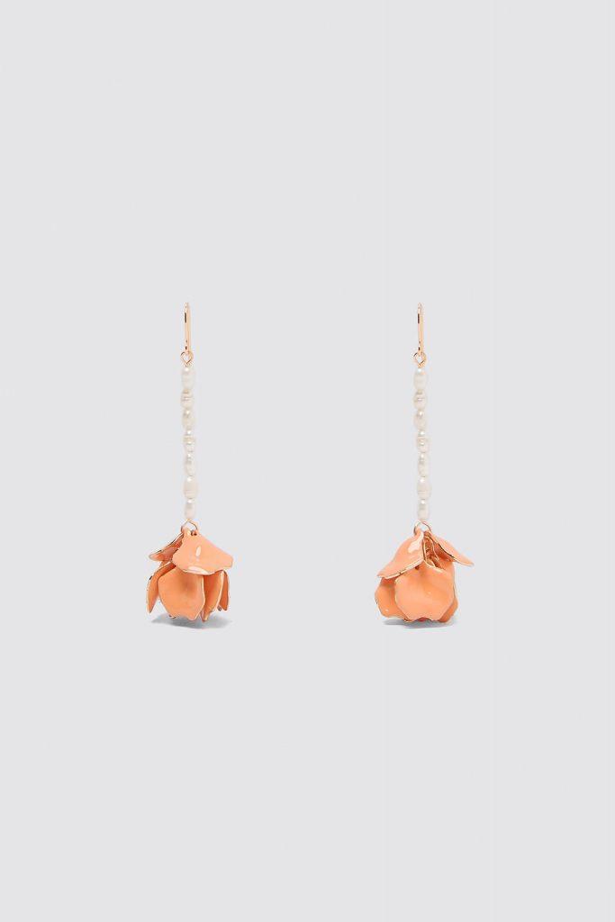 boucles d'oreilles perles de culture Zara