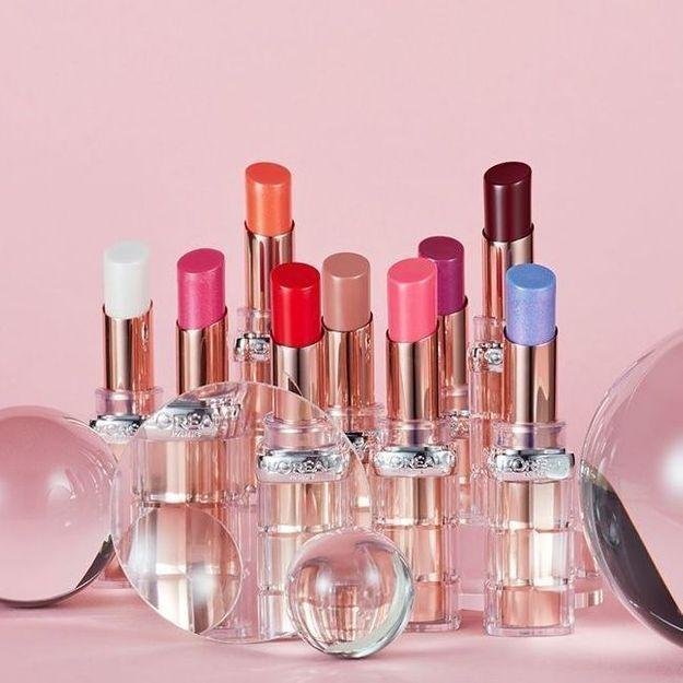 rouges à lèvres Color Riche Plump & Shine L'Oréal