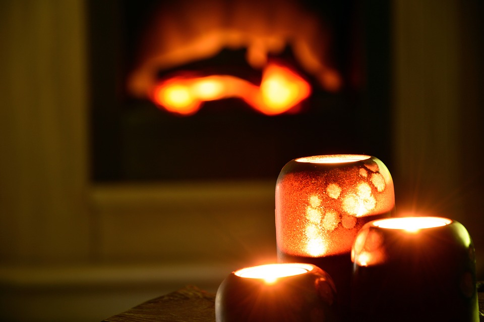 ambiance cocooning bougies