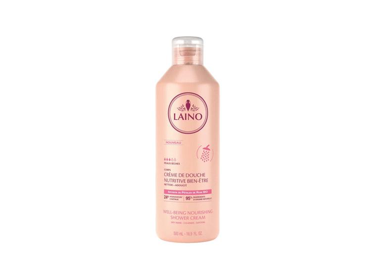 Crème de douche nutritive bien-être à la rose Laino