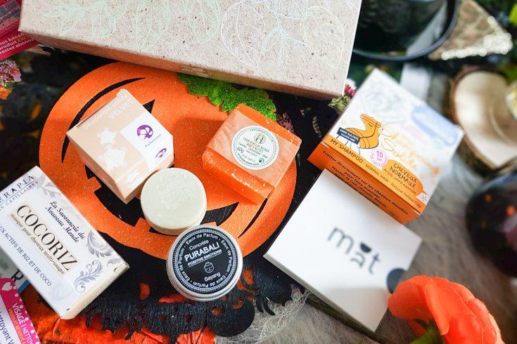 Biotyfull Box ocotobre 2019 soins solides