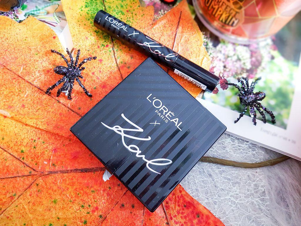 collection maquillage L'Oréal Paris X Karl