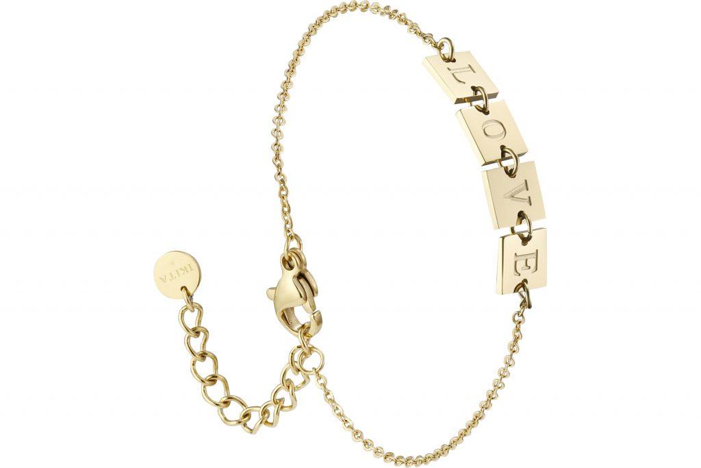 bracelet chaîne Love Ikita Paris