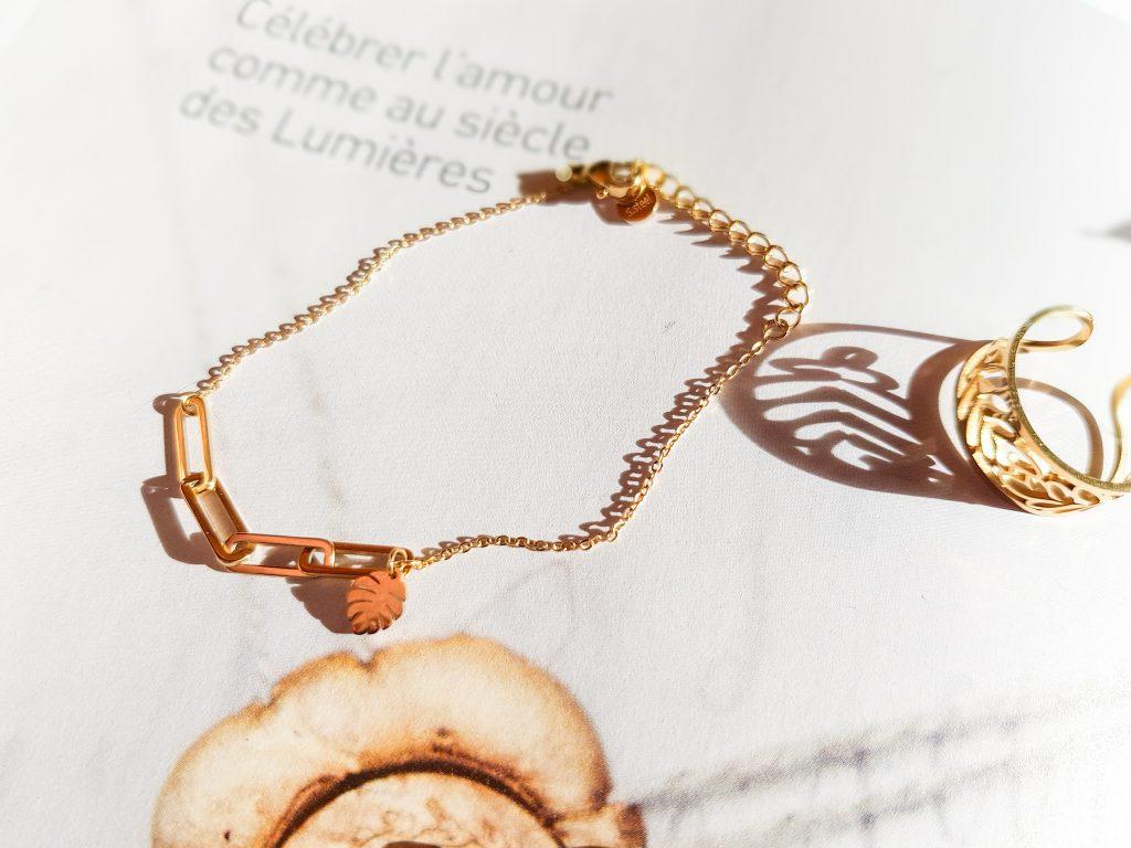 bracelet chaîne maillons Ikita Paris