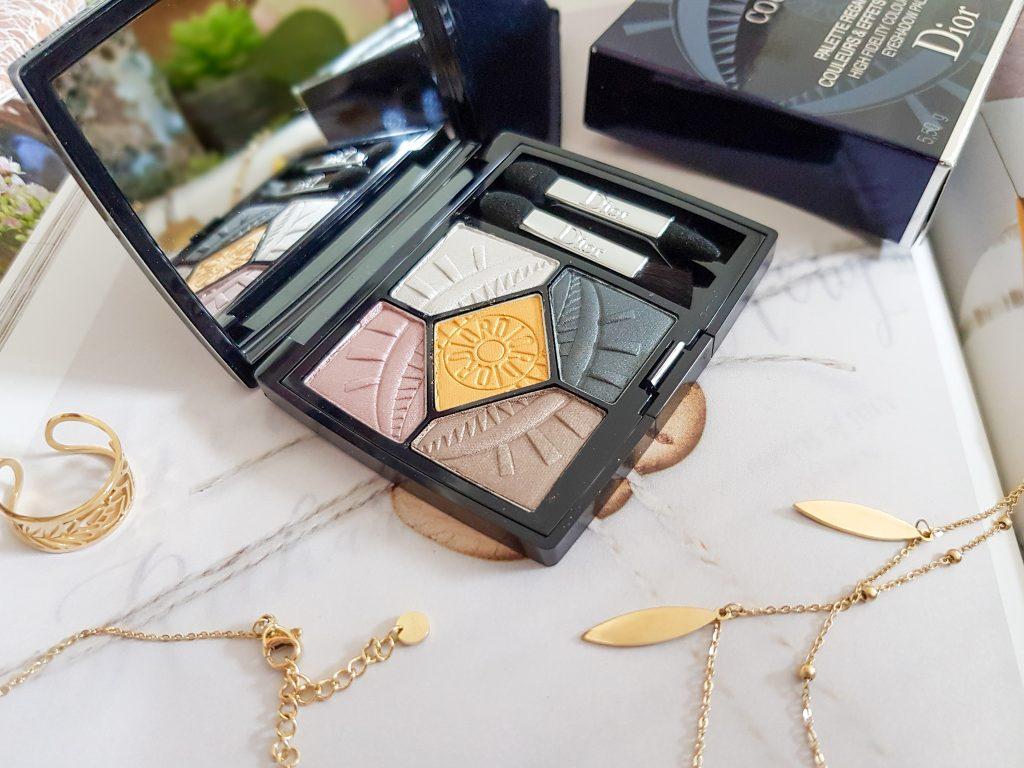 palette aux teintes automnales, 5 couleurs Intensif-Eye Dior