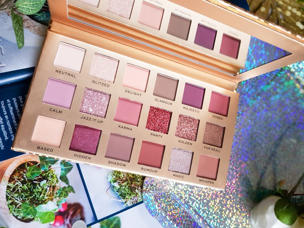 Luxe Shadow Palette New neutral Revolution Pro