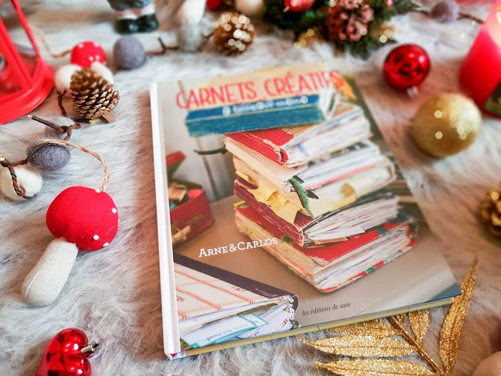 4 beaux livres à offrir pour créations manuelles : Carnets Créatifs
