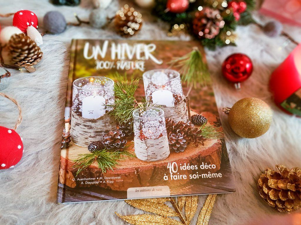 4 beaux livres à offrir pour créations manuelles : Un Hiver 100%