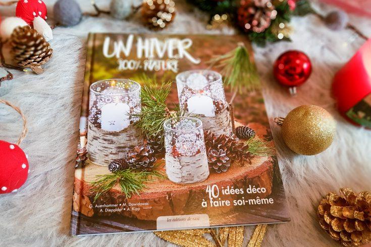 4 beaux livres à offrir pour créations manuelles : Un Hiver 100% Nature
