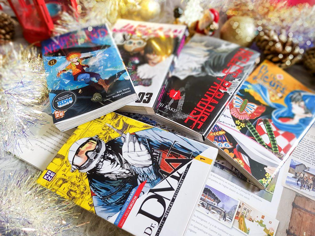 guide idées cadeaux pour toute la famille : mangas Kazé