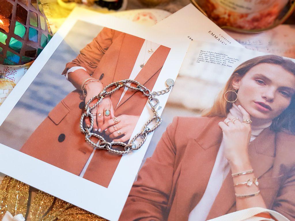 bracelet Agathe collection Les Adorées Emma & Chloé