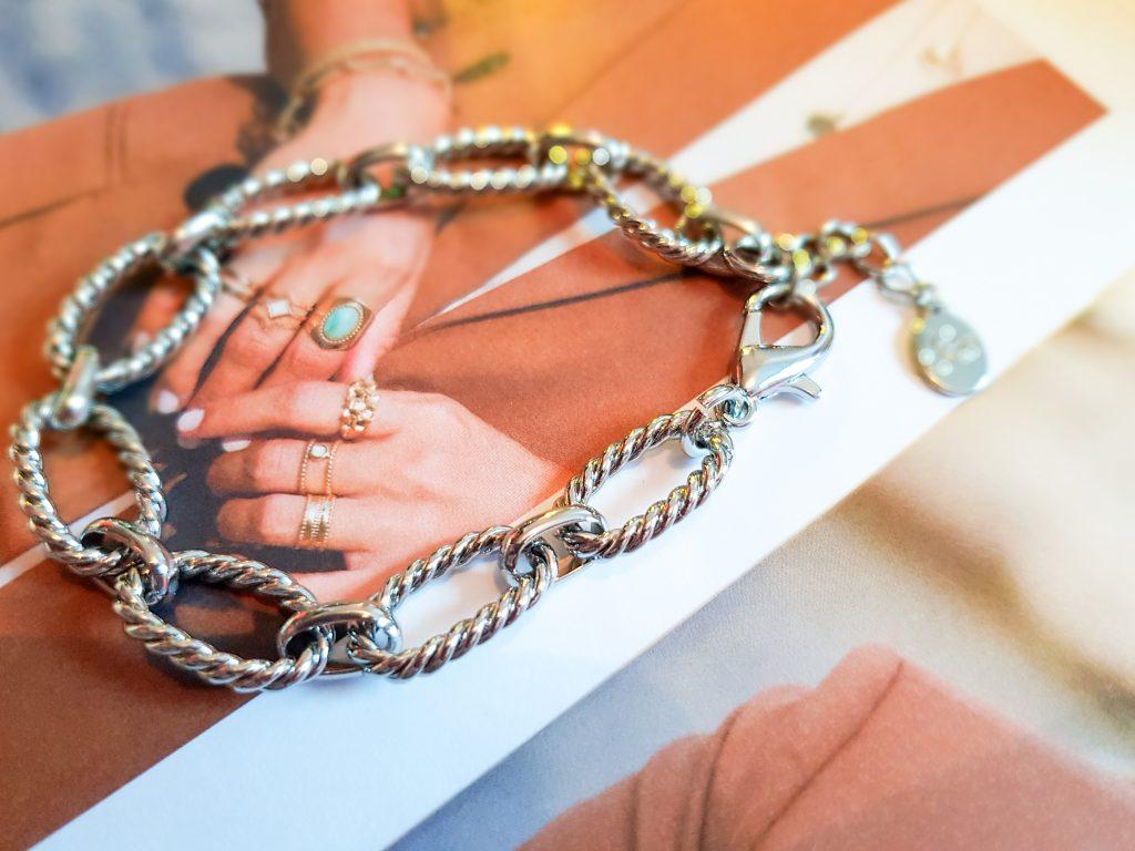 bracelet torsade Emma & Chloé