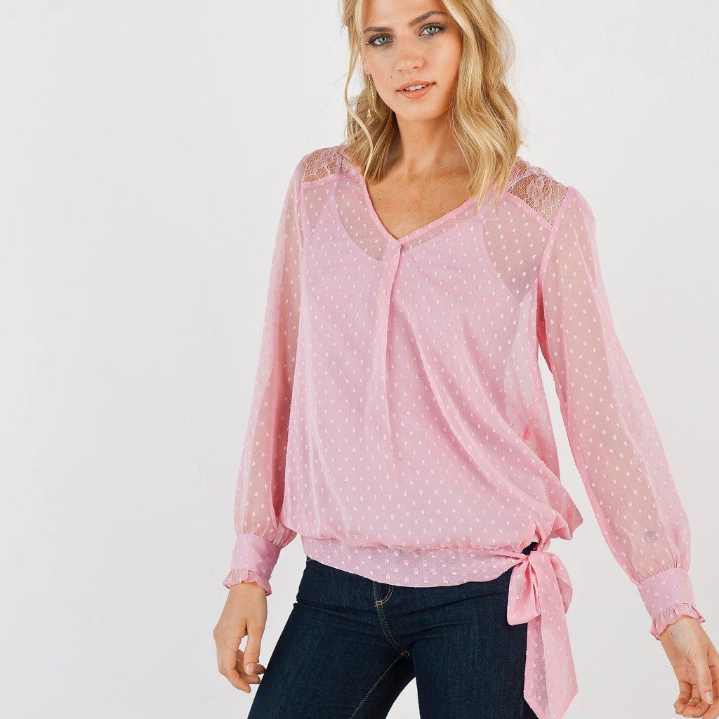 blouse plumetis Blancheporte