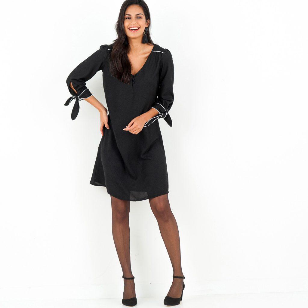 robe noire Blancheporte